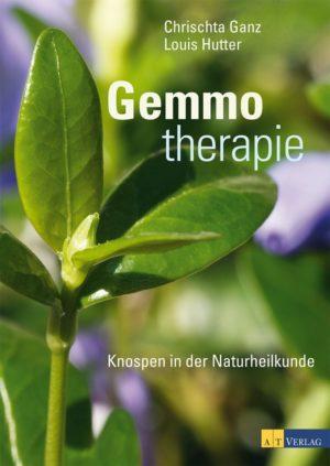 Buchcover Gemmotherapie Ganz Hutter AT Verlag